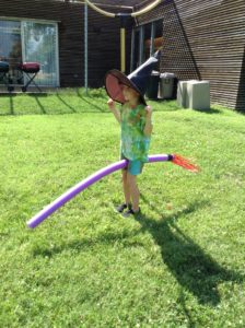 hogwarts yard broom