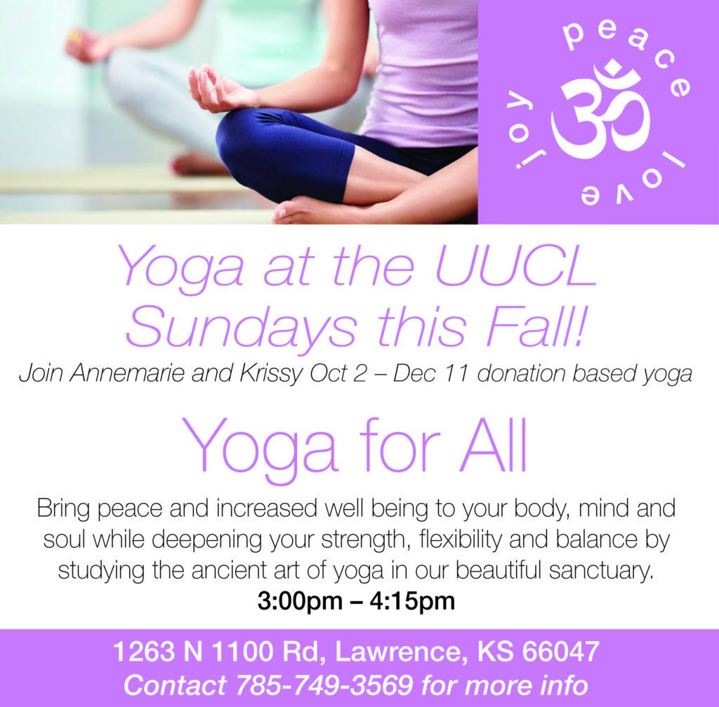 Yoga UFL ad